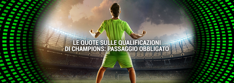 Champions League: quote passaggio gironi
